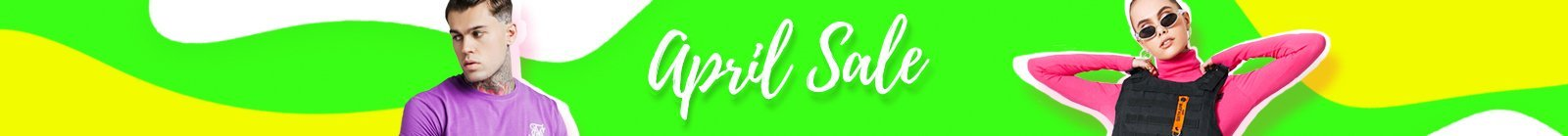 April SALE SS