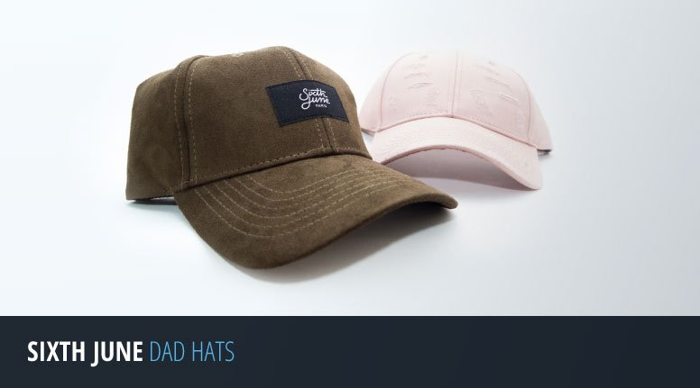 Sixth June Dad Hats