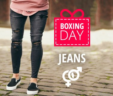 Jeans boxing day