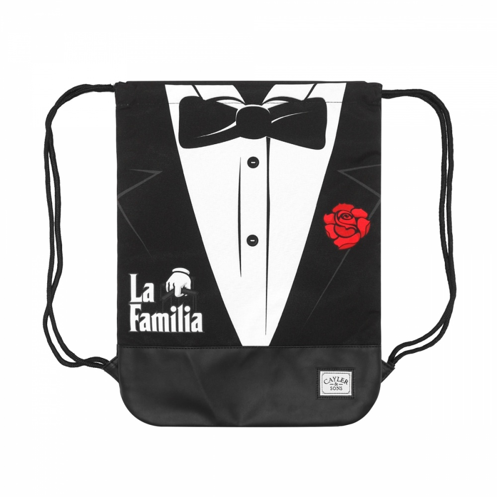 Gym bag C&s Wl Head Of The Family Black White Red
