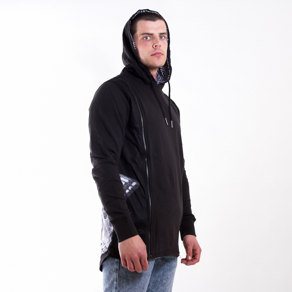 "Mikina Rocawear ""double Hood"" Black S"