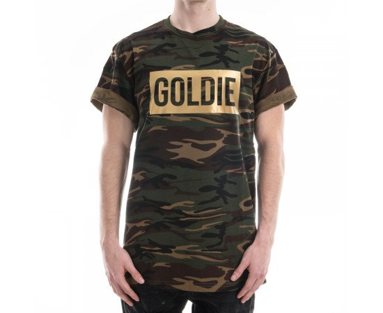 Tričko Goldie Merch Box Camo