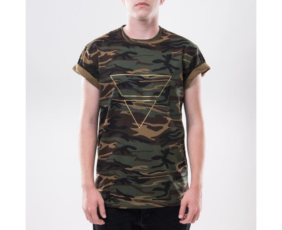 Tričko Goldie Vision Pyramyd Goldie Merch Camo