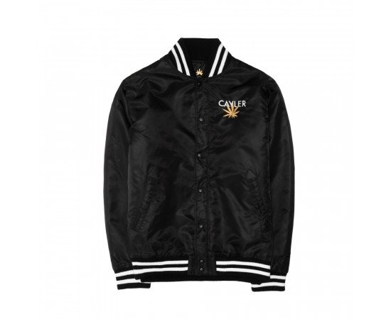 Bunda Cayler & Sons WHLB Bundz N Bluntz Baseball Jacket Black Gold