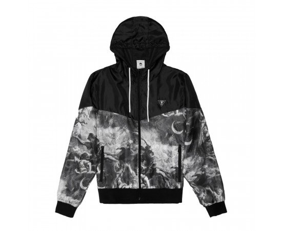 Bunda Cayler & Sons WHLB Fear God Windbreaker Black White