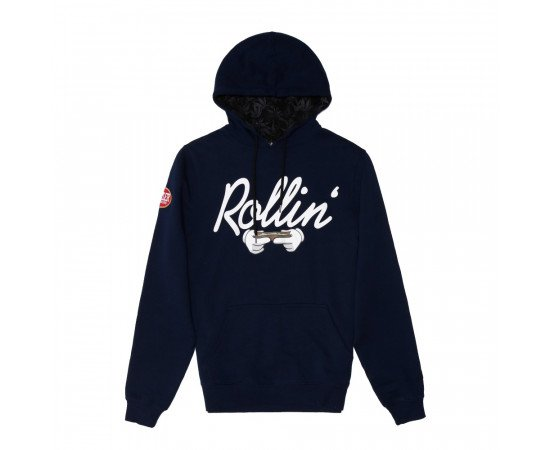 Mikina Cayler & Sons WHLB Rollin Hoody Navy White