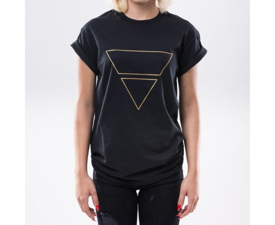 Tričko Goldie Vision Pyramid Goldie Merch Black