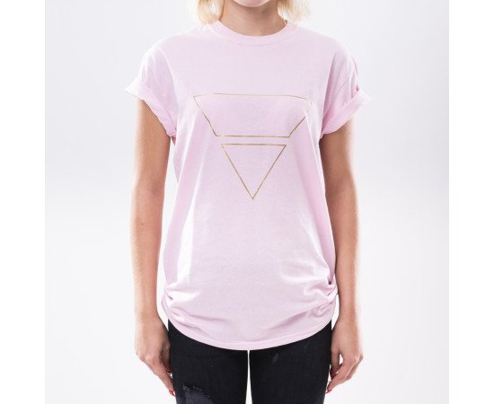 Tričko Goldie Vision Pyramid Goldie Merch Pink