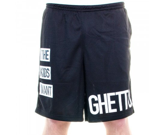 Kraťasy Cayler & Sons BLLB Kids Want Mesh Shorts Black White