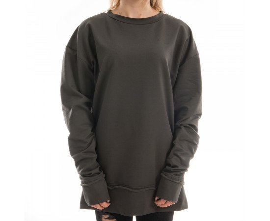 Mikina Goldie Vision Oversized Olive