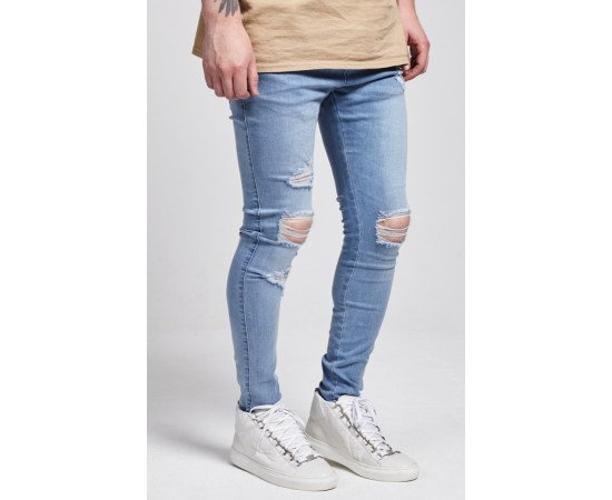 Jeans Sik Silk London Skinny Denim Blue realphotonhs