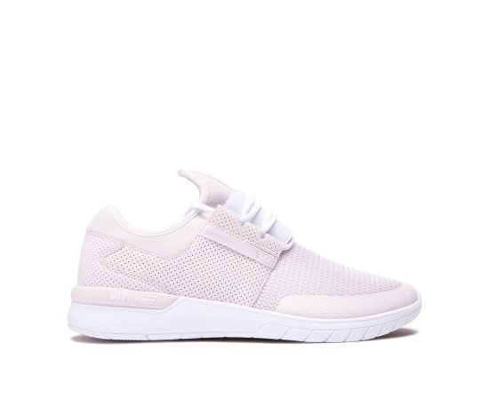 Tenisky Supra Flow Run Light Pink White