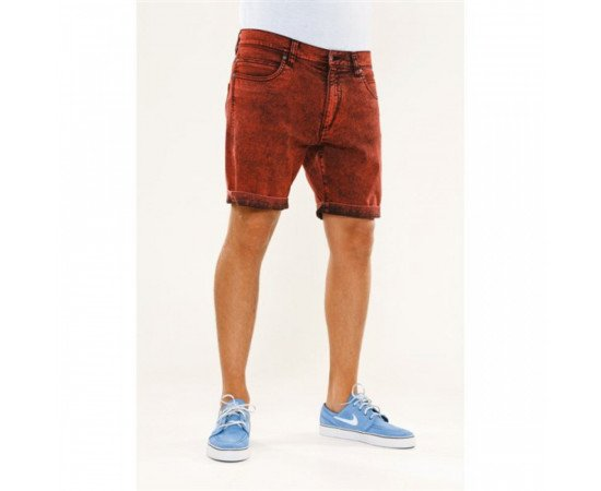 Reell Palm Short Colored Red
