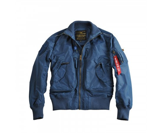 Bunda Alpha Industries Flight Jakets Prop Blue