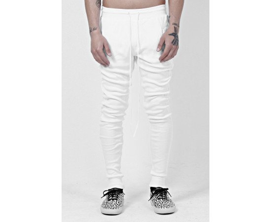 Nohavice Favela Thermal Pants White