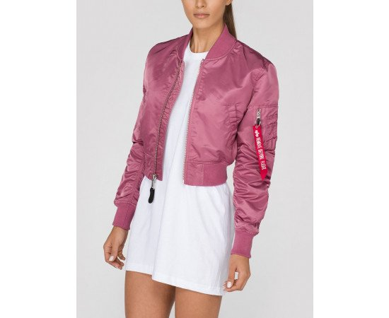 Dámska bombera Alpha Industries MA-1 PM Cropped Pink Copper