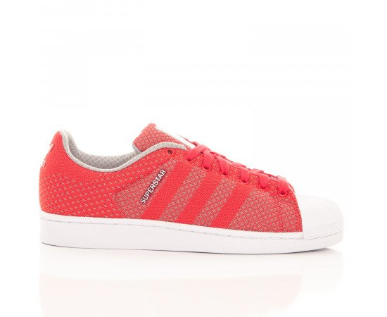 Tenisky Adidas Originals Superstar Weave Red Grey White (Default)
