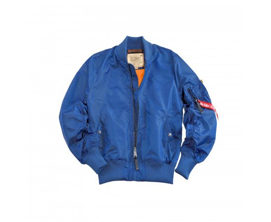 Pánska bunda Alpha Industries Ma-1 Tt Pacific Blue