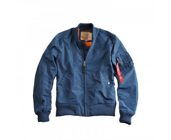 Pánska bunda Alpha Industries Ma-1 Tt Bold Blue