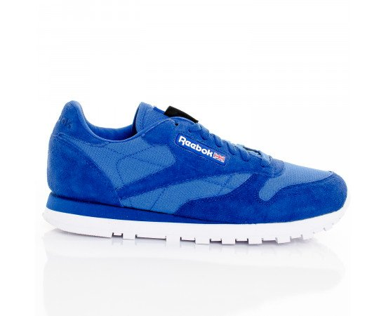 Tenisky Reebok CL Lthr Cordura Collegiate Royal White