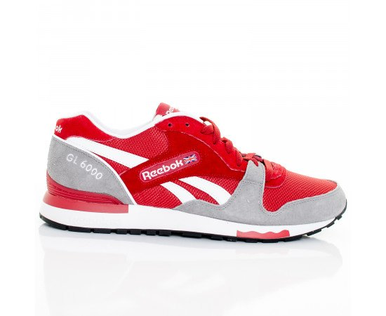 Tenisky Reebok GL 6000 Flash Red Flat Grey