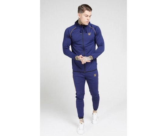 SikSilk Tracksuits Scope Navy & Gold