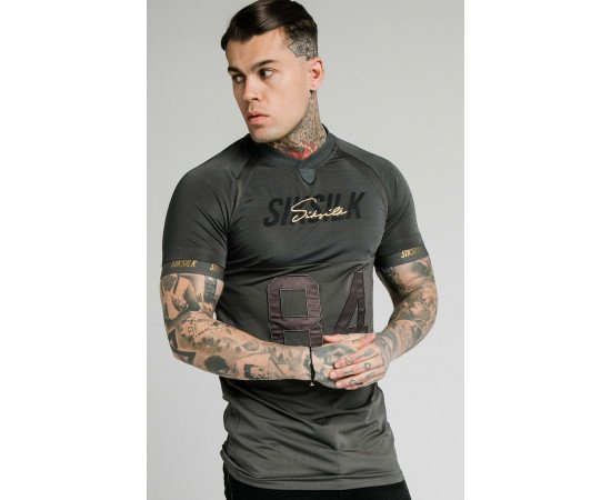 SIKSILK MARBLE STRETCH SPORTS TEE