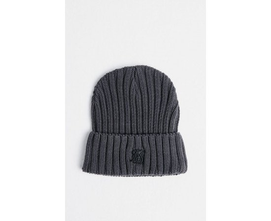 SIKSILK RIBBED CUFF KNIT BEANIE