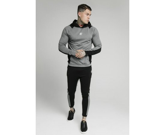 TRACKSUIT SIKSILK ENDURANCE GREY BLACK
