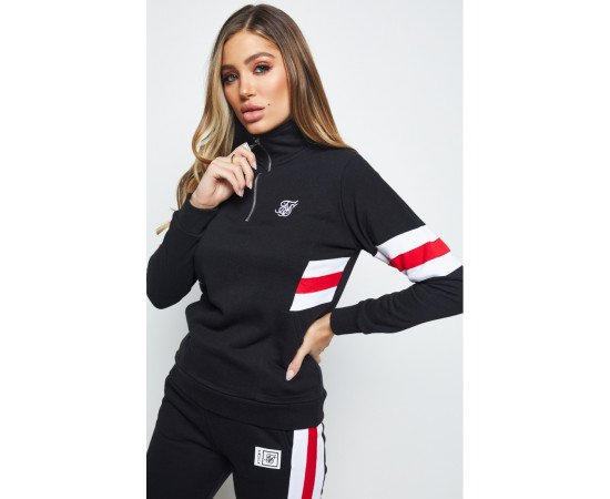 SIKSILK SPORTS LUXE TRACK TOP
