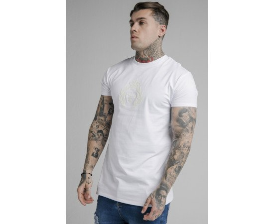 SIKSILK COLOUR CHANGE FITTED BOX TEE