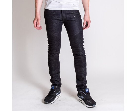Jeans Black Kaviar Maetan Blue Raw
