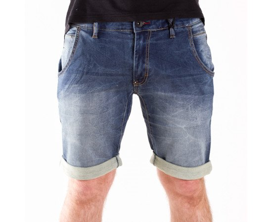 Kraťasy Rocawear Denim Bottom Basict Blue