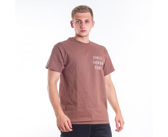 Tričko Nahodsa Merch Brown