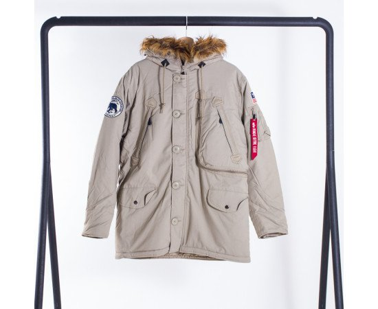 Bunda Alpha Industries Polar Khaki