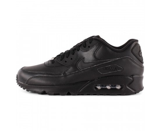 NIKE AIR MAX 90 LEATHER Pánske BLACK