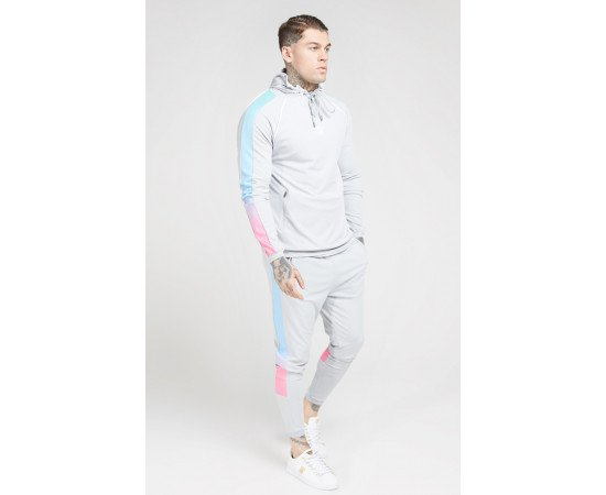 Siksilk Tracksuits Scope Sprint Fade Ice Grey