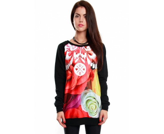 Crewneck Endorfina BDL Flowfolk Black