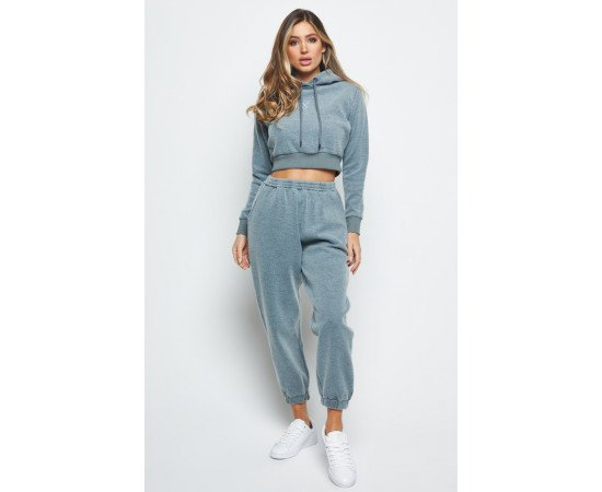 TRACKSUIT SIKSILK BRUSHED GREY