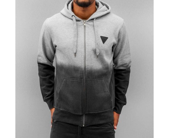 Mikina Just Rhyse Fog Zip Light Grey