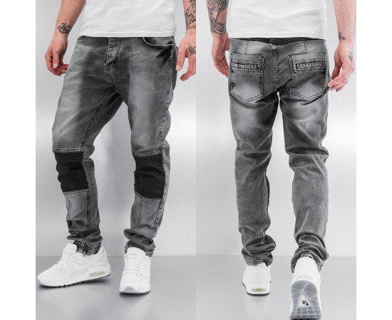 Jeans Bangastic PU Straight Fit Grey