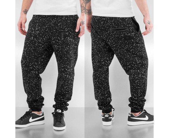 Tepláky Bangastic Speckle Sweat Pants Black/Grey