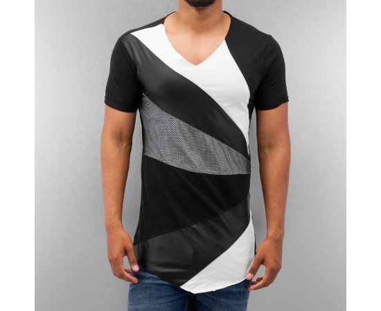 Tričko Bangastic Stripes T-Shirt Black