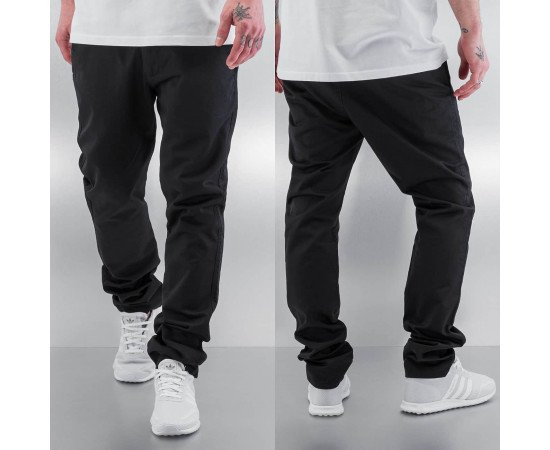 Nohavice Cazzy Clang Pirmin Chino Pants Black