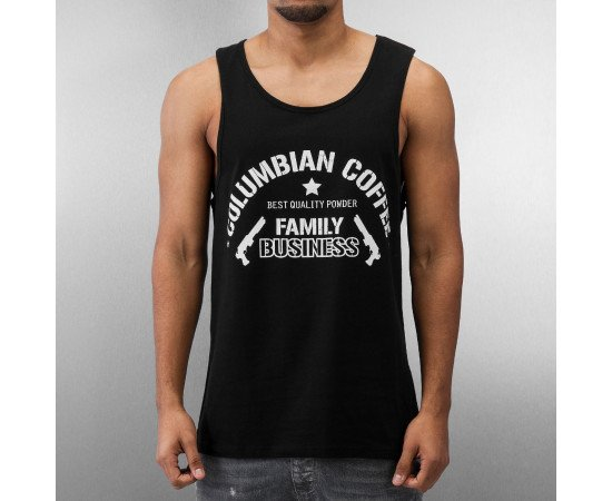 Tričko Dangerous DNGRS Columbian Coffee Tank Top Black