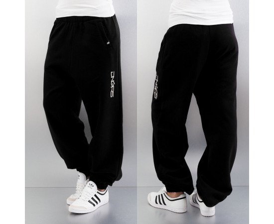 Tepláky Dangerous DNGRS Soft Dream Leila Ladys Logo Sweat Pants Black/white