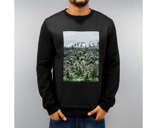 Dangerous DNGRS Hollyweed Sweatshirt Black