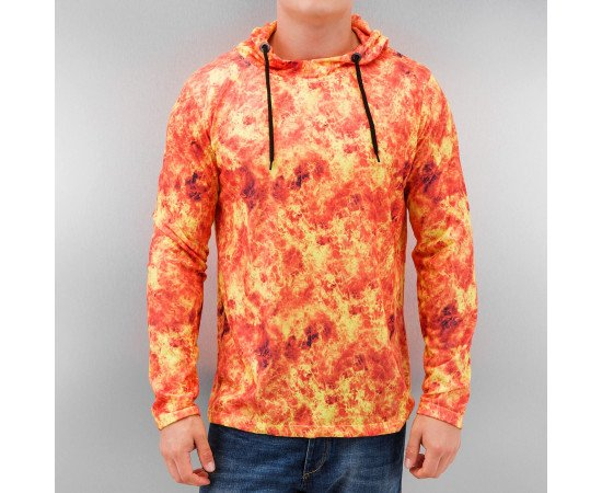 Mikina Dangerous DNGRS Flames Hoody Orange
