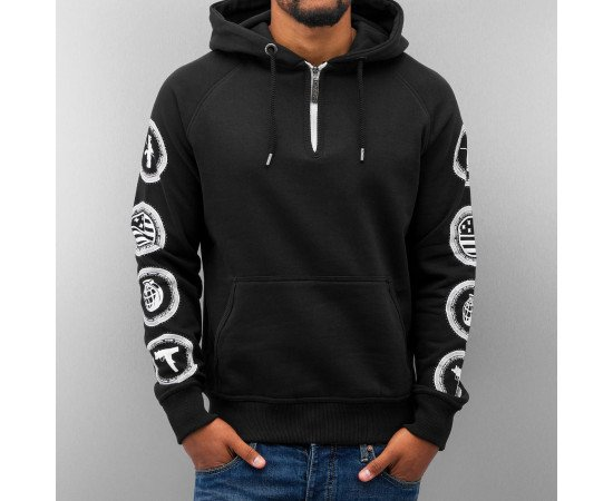 Mikina Dangerous DNGRS Born In The Street Hoody Black