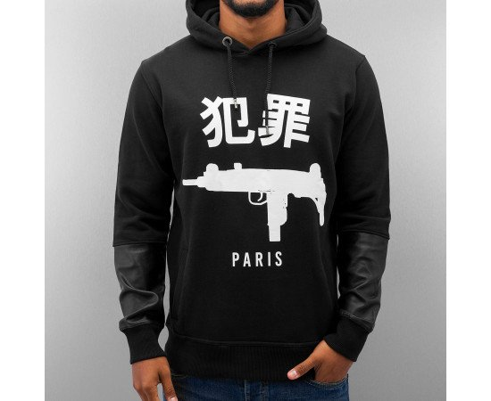 Mikina Dangerous DNGRS Paris Hoody Black